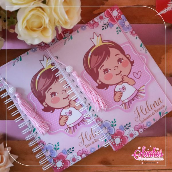 livro do bebe menina