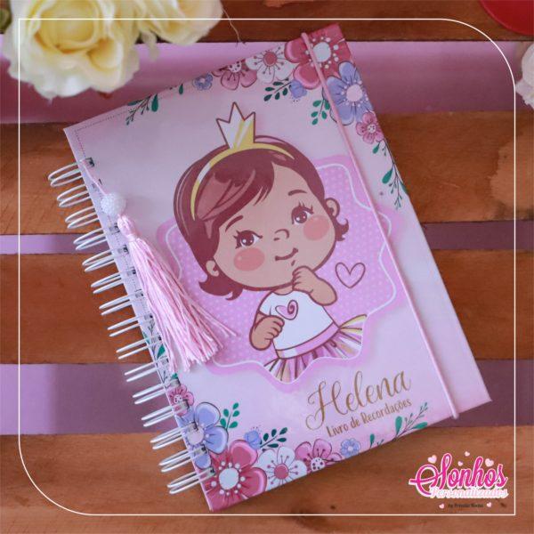 livro menina